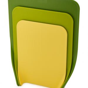 סט 3 משטחי חיתוך Nestchop ירוק