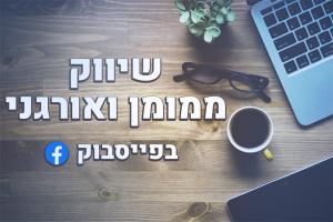 שיווק ממומן ואורגני בפייסבוק